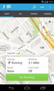 RunKeeper Screenshots 1